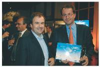 Pierre-Emmanuel Tetaz (Etap-On-Line) et Bertrand Bigay (Cityvox).