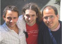 Benjamin Levy, Antoine Brenner et Andrew Arnon veulent allier croissance de leur entreprise et neutralité environnementale.