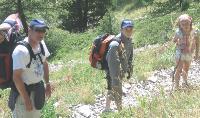 Bruno Watine apprécie le trakking en famille dans les Hautes-Alpes