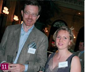 11- François Rougnon (Groupe Rougnon) et Jeanne Cavelier (Chef d'Entreprise Magazine).