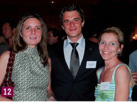 12- Frédérique Lefèvre (Ciel), Vincent Léonard (Chef d'Entreprise Magazine) et Christine Coudert (Sage).
