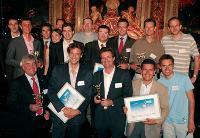Les lauréats 2008 au grand complet.