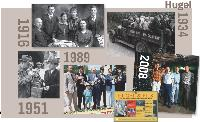 Depuis 1639, la famille Hugel défend le Riquewihr. La 12e génération s'efforce aujourd'hui de développer l'image du vin alsacien.