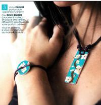 Les Parfumables proposent des bijoux personnalisables qui diffusent la fragrance de son choix.
