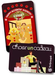 Une fois la carte-cadeau créditée du montant choisi, son bénéficiaire peut l'utiliser en une ou plusieurs fois
