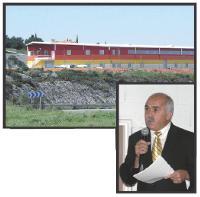 L'usine de Sénidéco, dans les Bouches-du-Rhône. Ci-contre, Thierry Fabre, le p-dg.