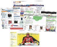 De célèbres sites marchands permettent aux professionnels d'ouvrir leur boutique via des espaces dédiés. Goldway.fr (ci-contre) organise même des ventes flash sur PriceMinister.
