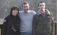 Fabrice Marchadier, gérant de Média Elec et Techni Confort, travaille avec sa femme et son neveu.