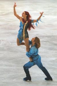 Gwendal Peizerat a été sacré, en 2002, champion olympique de danse sur glace, avec sa partenaire Marina Anissina, aux Jeux de Salt Lake City.