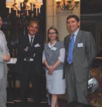 1 Georges Langeais, Hélène Lencauchez et Philippe Lesaffre (Caisse d'Epargne)
