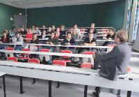 L'Ecole de management de Normandie invite de nombreux dirigeants à présenter leur expérience aux élèves.