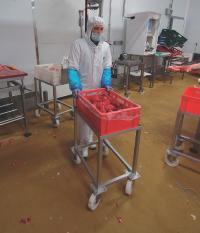 Grâce à du nouveau matériel et l'instauration de séances d'échauffement, la société Yves Fantou est exempt de cas de TMS.