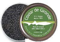 Le caviar de Gironde est commercialisé 95 euros les 50 grammes.
