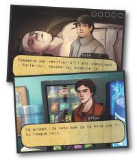 Il crée des jeux vidéo pour l'univers médical