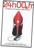 Depuis novembre 2009, 24h00.fr propose un magazine qui mêle articles sur l'e-shopping et publicités assorties de promotions