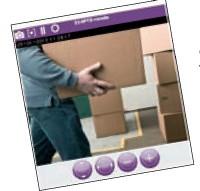Console web sécurisée de vidéosurveillance sur IP eFlag.