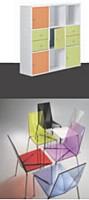 JM Bruneau privilégie des styles de mobilier variés.