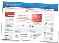 Avec une offre de services variée, E-commerce a conquis une clientèle de professionnels.