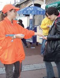 STREET MARKETING : UN COUP DE PUB DANS LA RUE