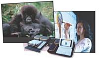 Speechi propose à ses clients de faire eux-mêmes un don pour la protection des gorilles lorsqu'ils louent un logiciel.