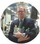 Pascal Bastien, fondateur de Vegetal & Mineral Water