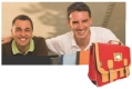 MAROQUINERIE. Fabrice Raffo et Benjamin Prades, dirigeants d'Aliseo