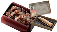 Gourmandise et singularité avec les caramels de la maison Henri Le Roux. Tradition et élégance sont au rendez-vous chez Opinel.