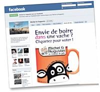 D�j� pr�sente sur Viadeo, la marque a rejoint Facebook il y a un peu plus d'un an.