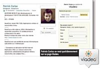 Patrick Carias se rend quotidiennement sur sa page Viadeo.