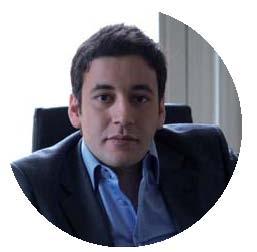 Mickael Hadjadj, dirigeant de Média Menus. Il fait recette grâce à la pub télé