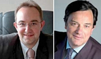 Arnaud Lacourt et Ronan de Kervenoaël, les dirigeants d'Apiterra.