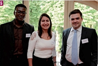 5 Devinedick Nyarko (Kraft Foods), Elisabète Vidal (Tassimo Professional) et Guillaume Prieur (Kraft Foods)