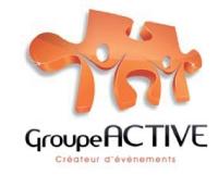 Le nouveau logo de l'agence Groupe Active a remporté la majorité des suffrages des collaborateurs de l'entreprise.