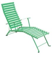 Le modèle classique Bistro se décline sous forme de chaise longue