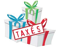 Les cadeaux d'affaires taxés