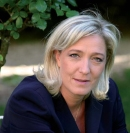 Marine Le Pen 19 % d'intentions de vote (1)
