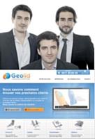 Les fondateurs de Geolid: (de g.à dr.) G. Cassagnau, G. de Neuvier et M. Cabrol. Leur offre clés en main a déjà séduit un millier de TPE.