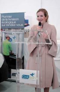 Nathalie Kosciusko-Morizet, minitre de l'Ecologie, a salué l'initiative de Logiperf