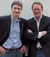 Fabien Esnoult et Jérôme Do, dirigeants de Logiperf