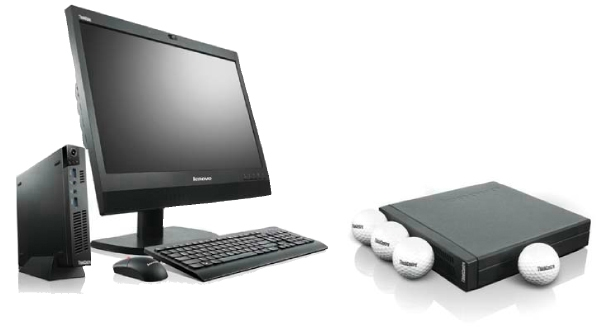 Les ordinateurs de bureau lenovo: petits mais performants
