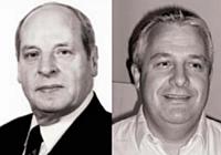 Michel Prissette (à gauche) et son fils Thierry Prissette (à droite) misent notamment sur la R & D pour assurer l'avenir de l'entreprise.
