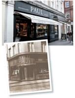 Reconnaissable entre toutes, la devanture noire des boulangeries Paul est née en 1993.