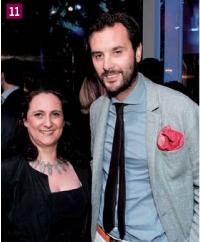 Carine Guicheteau (Chef d'entreprise) et Arthur de Soultrait (Vicomte A)