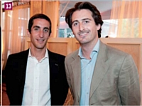 Nicolas Warter et Victor Augais (Urbanfootball)