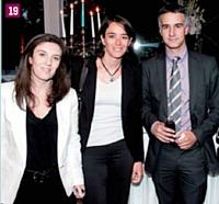 Jérôme Dumont (Kanyo Consulting), Laurent Goussault, Daniel Gambet et Elisabeth de Saint Basile (ETSCAF), Xavier Domenach (CJD), Vincent Bretin (Maven) et Marie Hsu (ETSCAF)