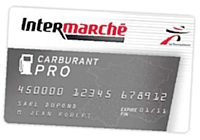 La carte carburant pro d'Intermarché mise en service
