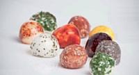 Le packaging du futur? Les coques Wikicell sont comestibles et peuvent servir à emballer du fromage.