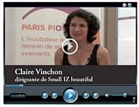 Claire Vinchon dirigeante de Small IZ beautiful