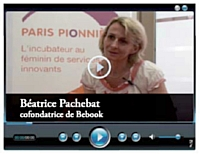 Béatrice Pacheboat cofondatrice de Bebook