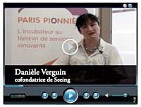 Danièle Verguin cofondatrice de Seeing